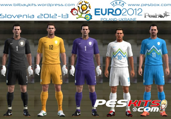 PES 2012 Kits Slovenia 2012/13 by Bilbay45
