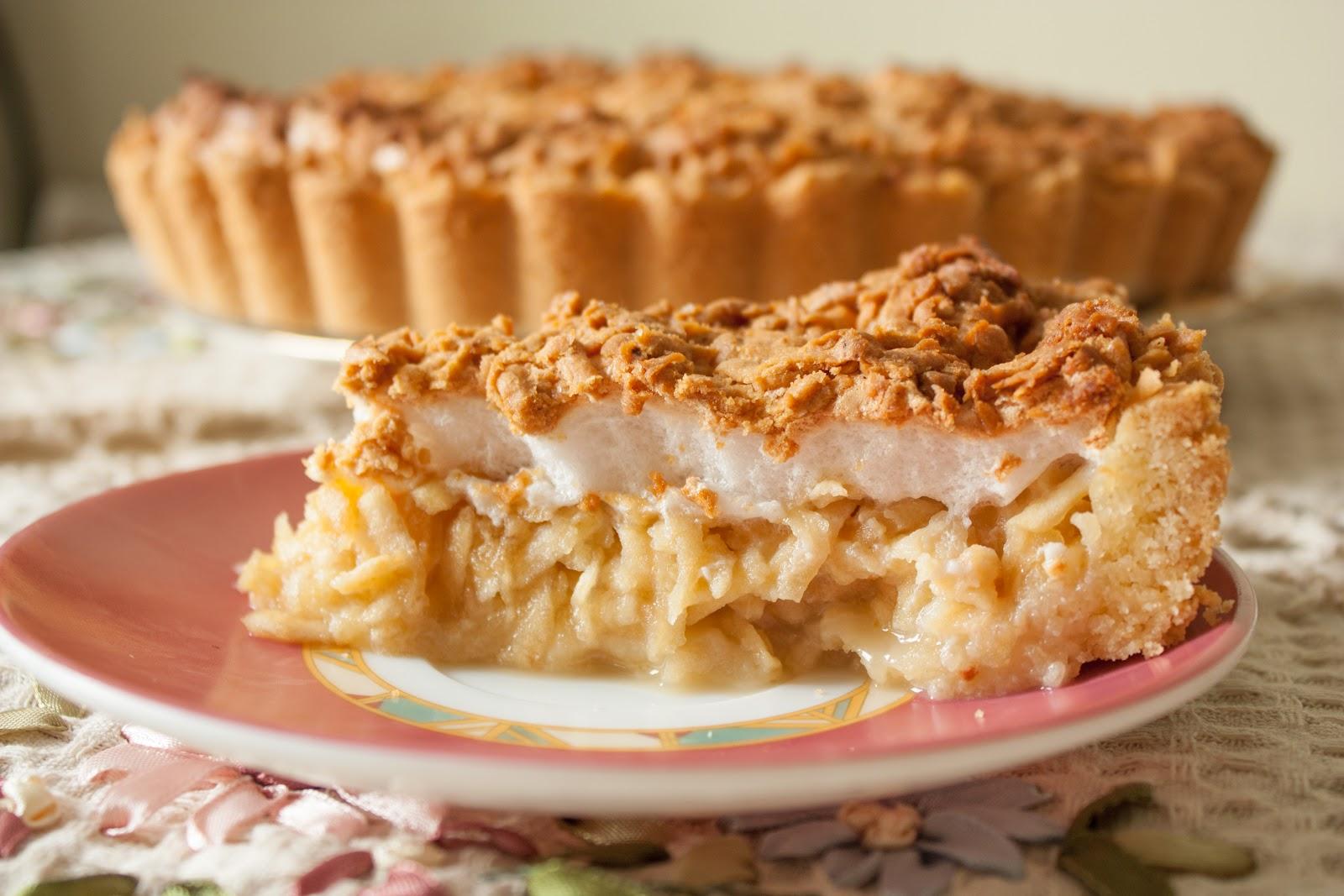 Пирог с яблоками и маргарином рецепт 71