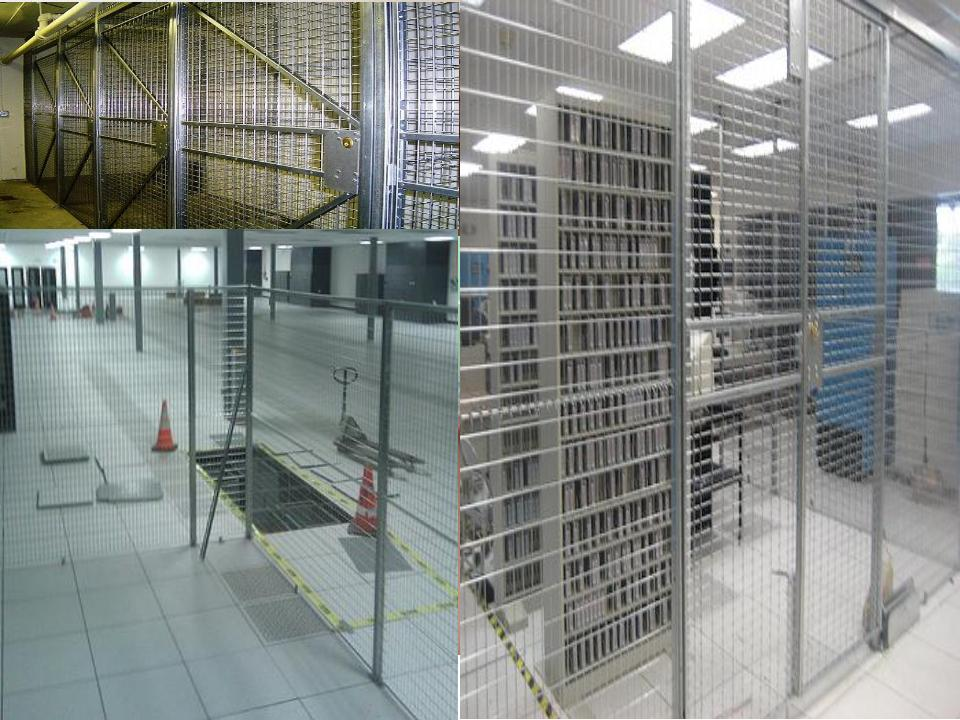 Kearny NJ Woven Wire Partition Security Cages | Wire Partition Cages ...
