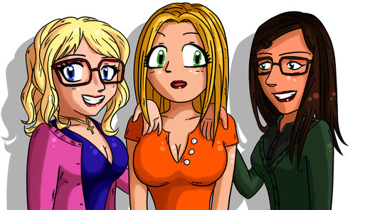 Big Bang Theory girls por kaeveris