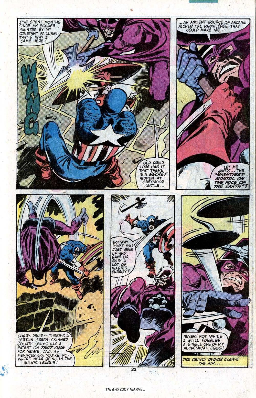 Captain America (1968) Issue #256 #171 - English 25