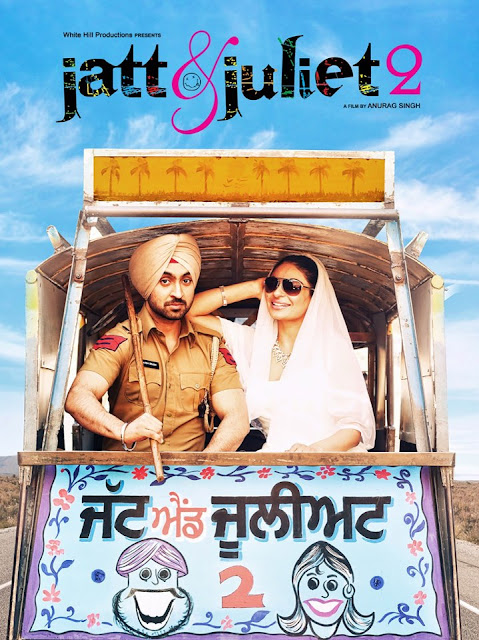 Jatt & Juliet 2 - Official HD Poster