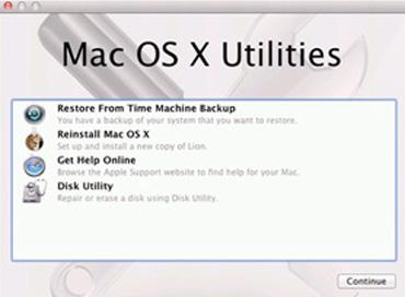 Layar Utilities Mac OS X