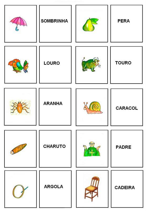 Desenhos Para Colorir Jogos de Memoria coloridos