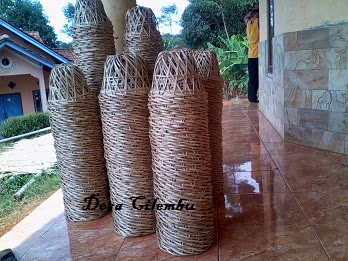 Keranjang Kemasan Bambu Ramah Lingkungan