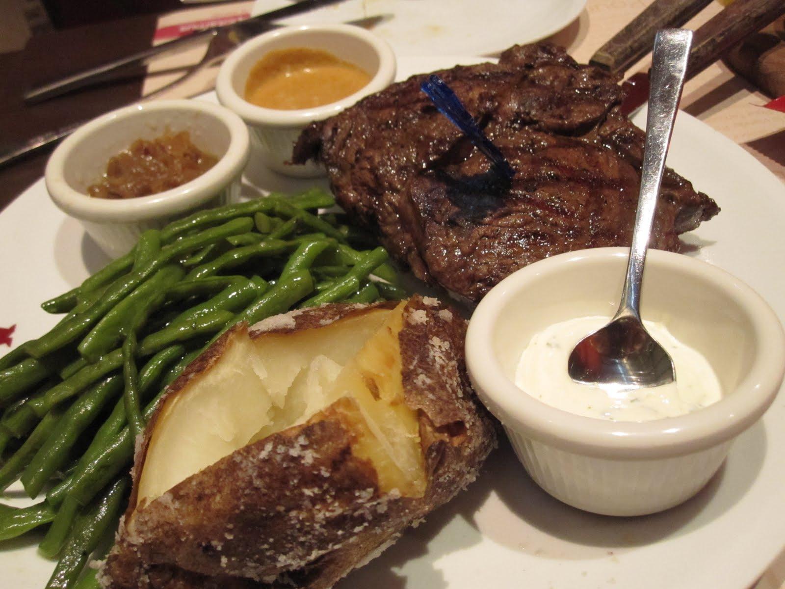 Small potatoes make the steak look bigger hippopotamus restaurant grill marina square - Hippopotamus restaurant grill ...