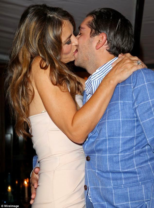 Elizabeth Hurley Kissing Challenge gossip9