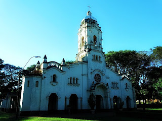 Igreja Matriz de San Ignacio Guazu, no Paraguai.