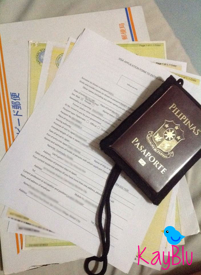 Kayblu Adventure How To Apply A Japanese Tourist Visa For Filipinos