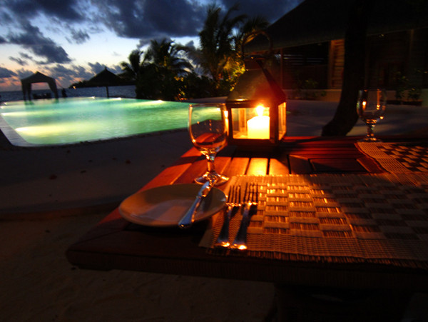 Romantic Getaways: Cocoa Island Honeymoon