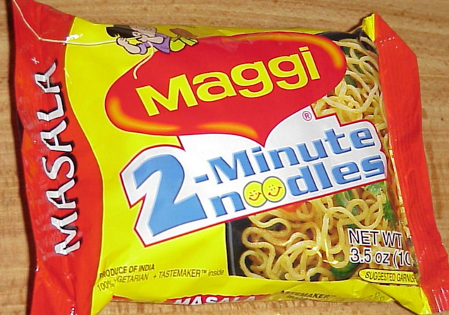 product line of maggi Maggi, as a brand, has seen many competitions in its lifecycle the brand has also diversified itself with launch of product ranges like soups, tomato.