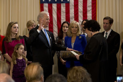 Vice President Biden take Oath