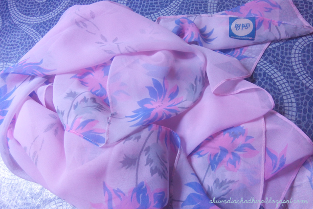 shawl by puji