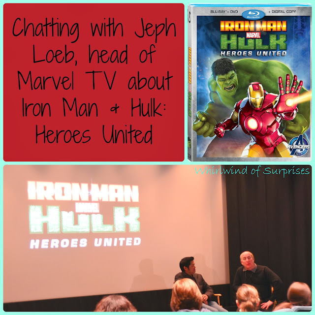 Interview with Jeph Loeb, head of #Marvel TV, on #Marvel's #IronMan & #Hulk: Heroes United