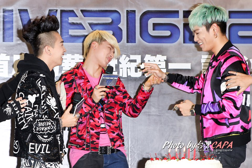 BIGBANG Press Conference in Taiwan