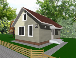 как построить самый дешевый дом