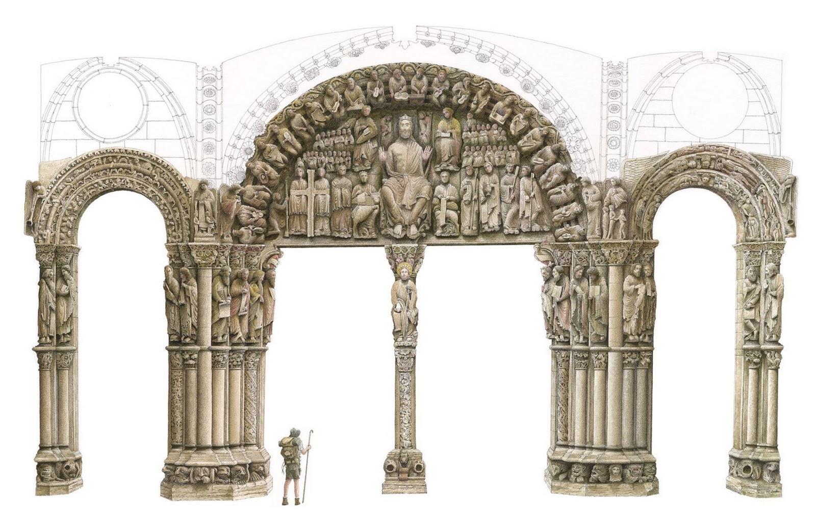 Armarios A Medida Santiago De Compostela : Arteygeografiadelgris el arte romanico