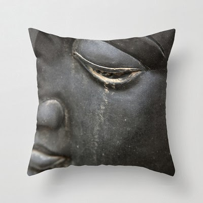 pillow case of weeping buddha