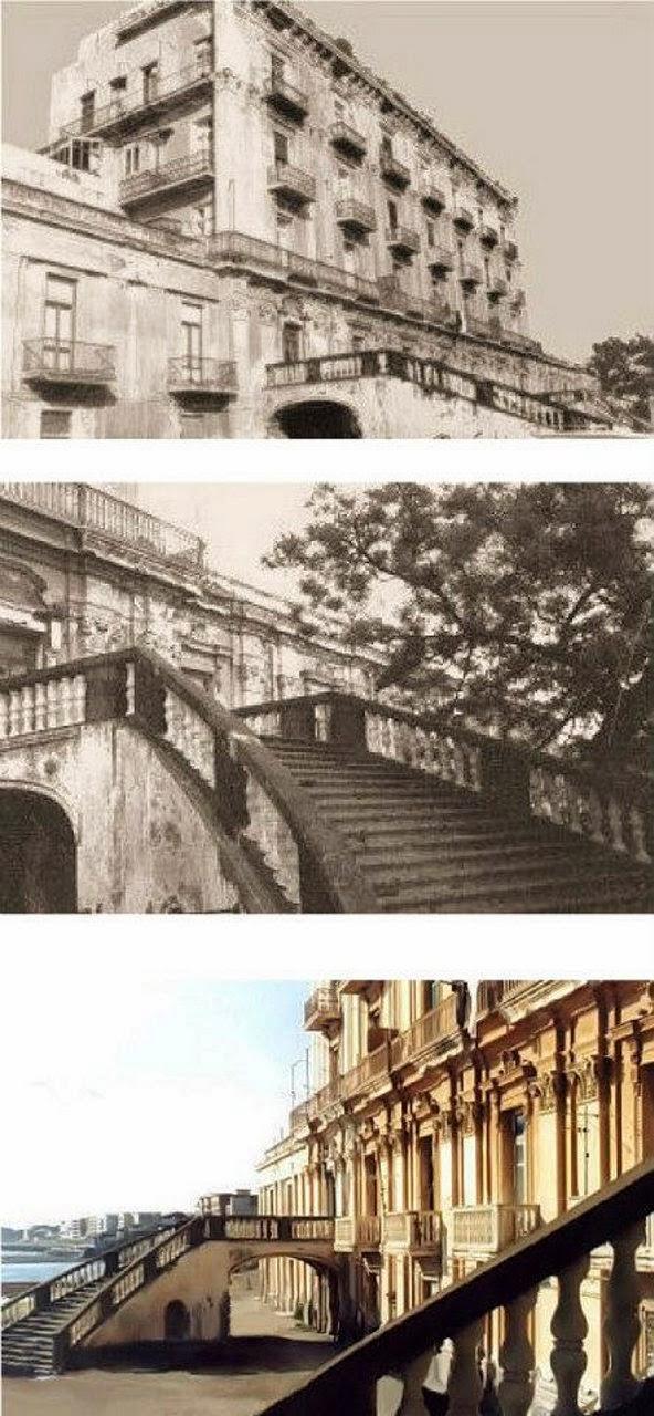 Regno delle due sicilie portici villa d 39 elboeuf una for Piani di casa con portici schermati e sunrooms