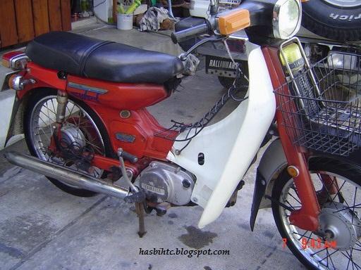 Motor Yamaha 75