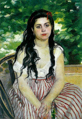 Auguste Renoir - en été, 1868