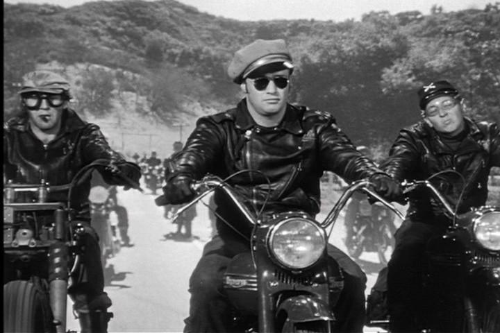 Dixie Delux: The Wild One....Outlaw Bikers?