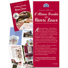 l'Alsace brodée selon Henri LOUX
