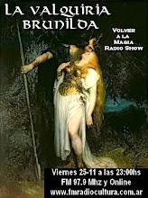 Valquiria Brunilda. Mitologia Escandinava
