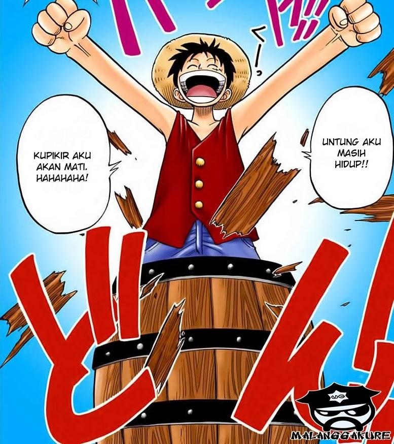 Komik One Piece 02 Full Color Bahasa Indonesia