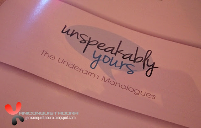 UNSPEAKABLY YOURS: The Underarm Monologues by Dove Deodorant