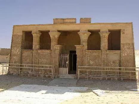 مقبرة بيتوزيريس فى تونا الجبل
