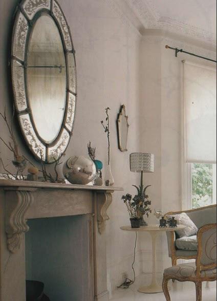 Espejos venecianos venetian mirrors desde my ventana for Espejos decorativos para chimeneas