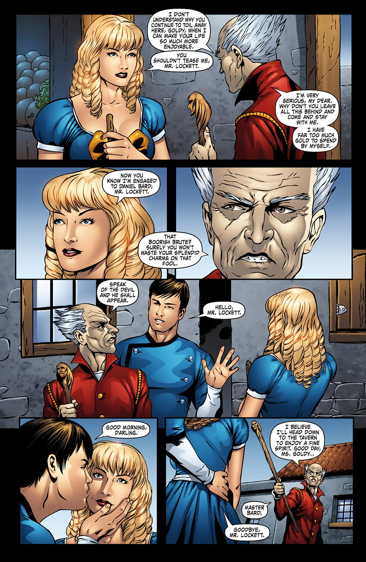 Grimm Fairy Tales (2005) Issue #9 #12 - English 7