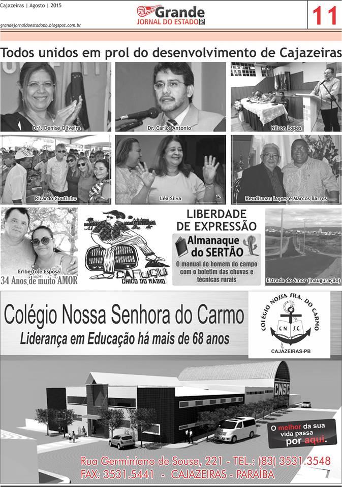 ARQUIVOS  DOCUMENTOS  DOS PRIMEIROS JORNAIS  DE  CAJAZEIRAS