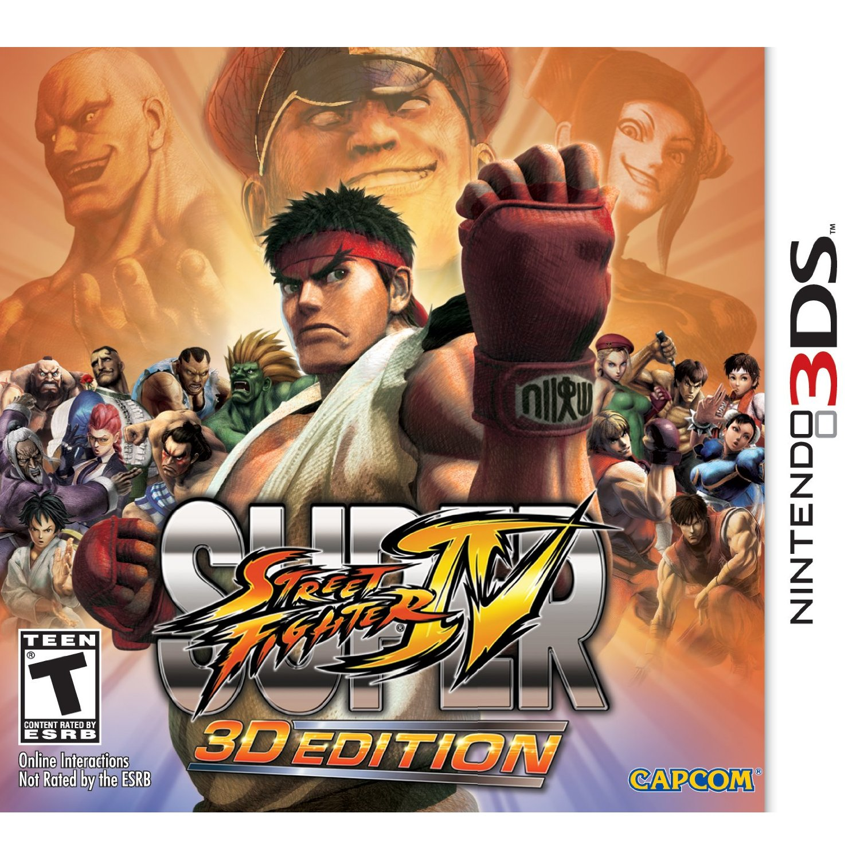Q Street Fighter 4 Super Street Fighter I...