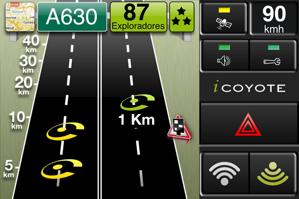 E Coyote Android Coyote Android ~ GPS R...