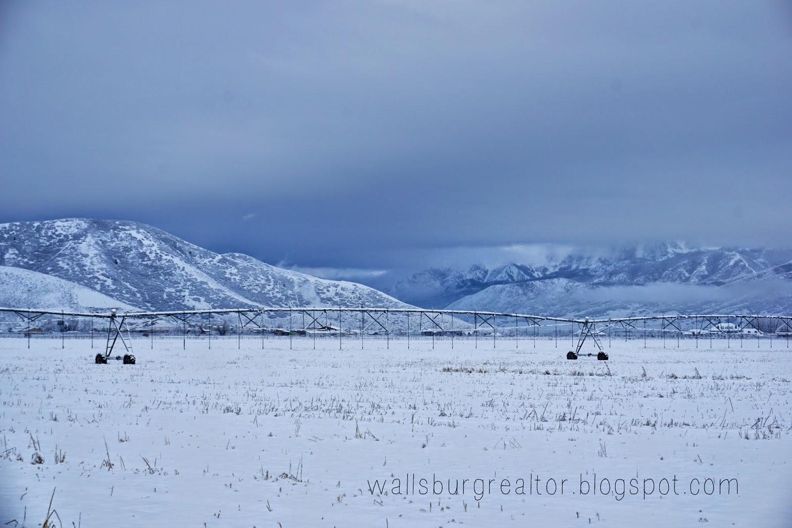 Snow in Wallsburg