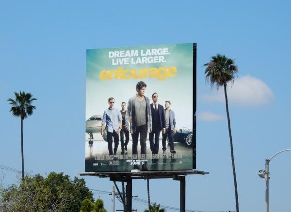 Entourage movie billboard
