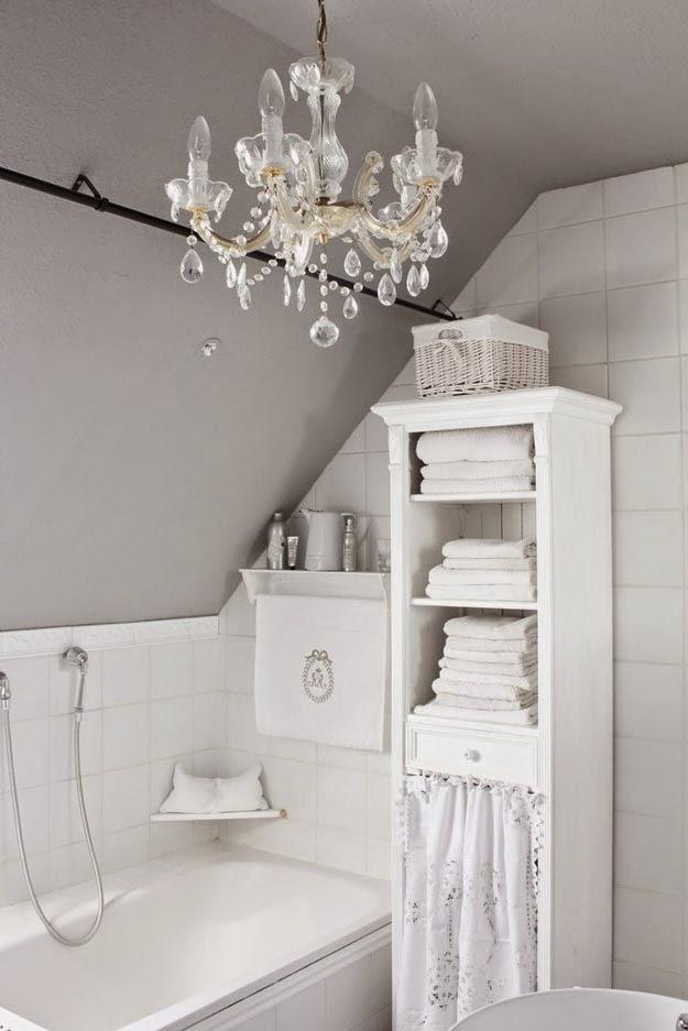 Shabby chic con amore   casa shabby chic.: come creare un bagno ...