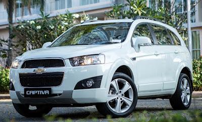 Eksterior Chevrolet Captiva Bensin/Diesel Facelift