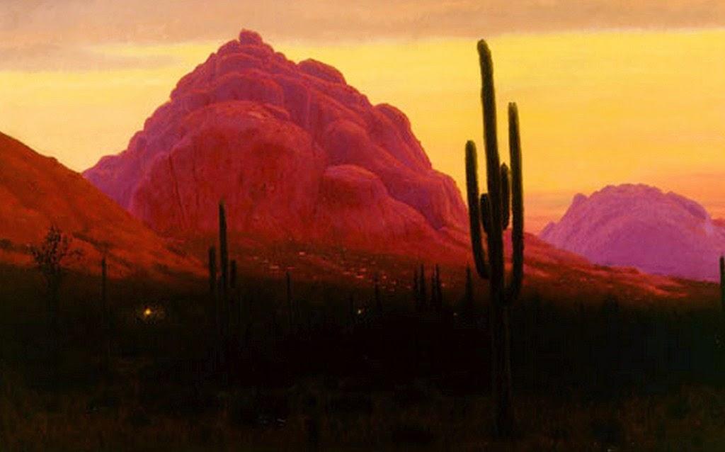 Im genes arte pinturas paisajes en atardecer pinturas - Cuadros de atardeceres ...