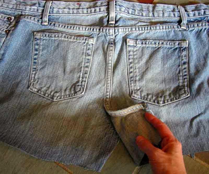 Что можно сшить из старых джинс фото 601