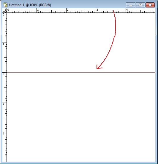 how to get ruler lines in photoshop
