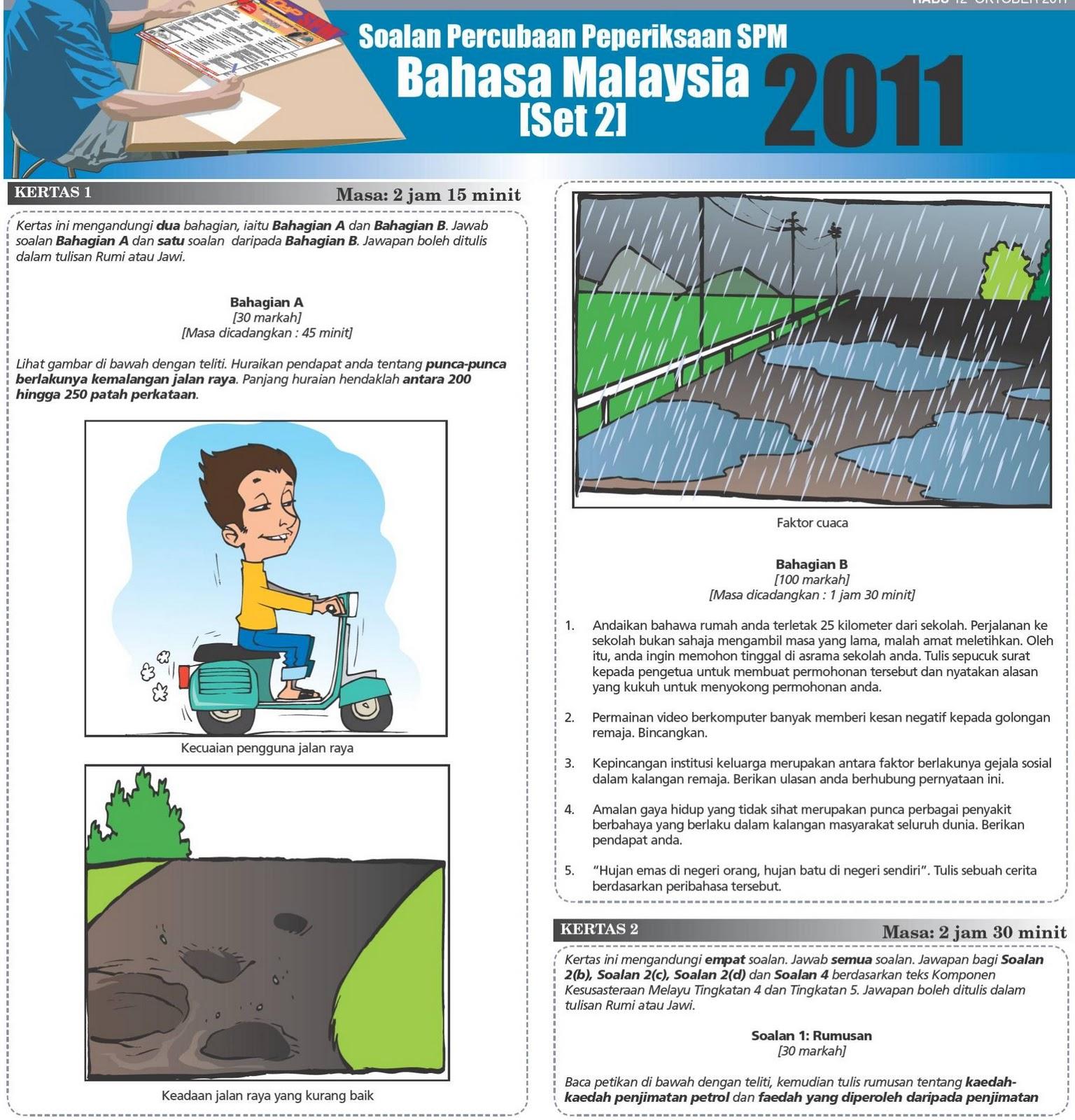 Bahasa Melayu SPM Utusan Set 2