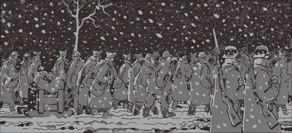 http://www.franceinter.fr/depeche-guerre-un-pere-et-marche-le-stalagiib-de-jacques-tardi