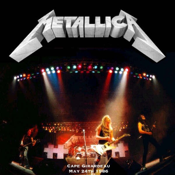 Fishoutofwater Metallica Cape Girardeaud May 24th 1986