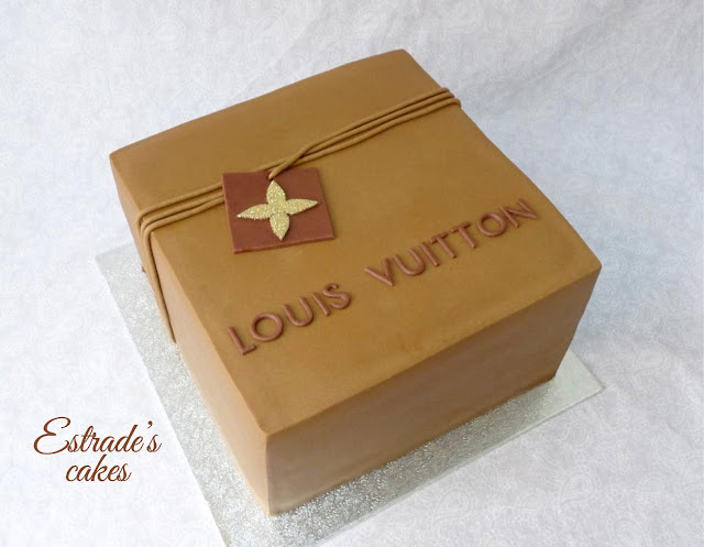 tarta Louis Vuitton 1