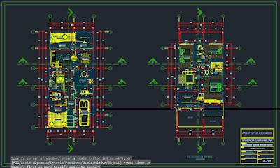 Expediente técnico de una vivienda unifamiliar - Plano arquitectónico