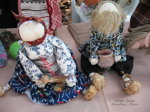 Тряпичные куклы 7