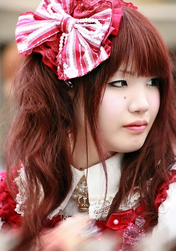 Harajuku Lolita portrait by Patatoshka